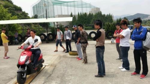 동명대, 외국인유학생 운전면허취득 및 범죄예방교육 시행