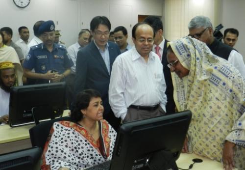 KT, 방글라데시 정부에 IT교육센터 기증
